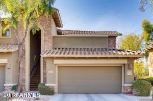 Beautiful desert landscaping all maintained by HOA. This unit has a private driveway (not shared).