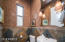 Powder Room with Venetian Plaster