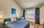 Both the master bedroom and guest bedroom are very spacious