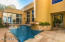 Yes, we have 2 pools and this is the courtyard pool accessible from the entry, living room and downstairs master