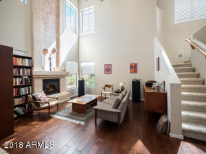 Enjoy lovely evenings relaxing in this bright and spacious family room.
