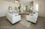 The Large Family room is perfect for any size family.