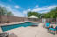 The modern style play pool is a great space for families.