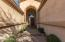 Front entry, private and grand!