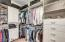 Master suite includes a 2nd large walk-in closet! His and hers!