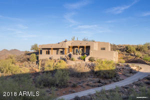 Dramatic custom home with outstanding views
