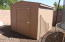 8 X 10 storage shed 2 years old