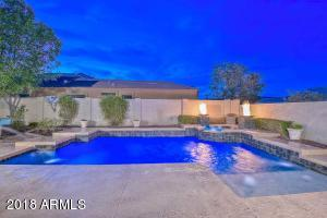 Resort Style backyard w/ Pool & Spa, Fire Woks & Patio w/ Firepit