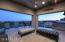 Covered patio and view deck