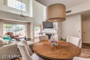 Downstairs you have everything! Kitchen, Living Room, Dining Area, Master Bedroom and 1/2 bath for guest!