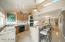 """Modern efficient kitchen, 42"""" cabs and upgraded granite"""