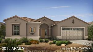 The Juniper Floor Plan - Spanish Elevation