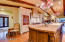 chefs kitchen with custom cabinetry 15 x 4 solid butcher block