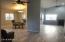Inside new porcelin wood grain tile, new baseboards, paint, removed popcorn, new fans, fixtures