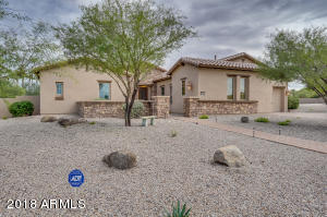 Welcome home to this highly upgraded single level in the desirable Estrella Mountain Ranch community. Enjoy your morning coffee on your front patio.