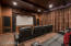 Theater/Media room