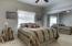 Full bedroom downstairs!
