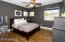 The guest rooms are oversized, and are what one would expect from a home of this size.