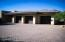 Three car extended length garage off the motocourt, with professionally-applied extra thick coating of epoxy on the floors.