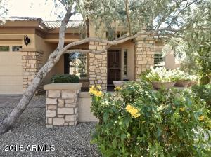 Beautiful Stone and Stucco Exterior with Built-in Planters