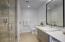 Huge bathroom in guest bedroom.
