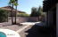 Large area for outdoor furniture. Property extends beyond gate