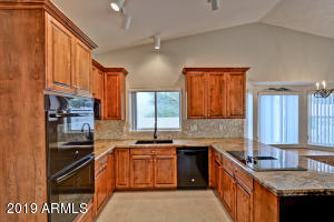 Beautifully updated Kitchen with double ovens