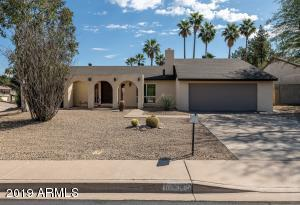 Home is directly across the street from the entrance of the Phoenix Mountain Preserve trails