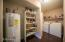 Pantry - washer and dryer go with the house