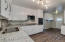 Kitchen has Refinished Cabinets, Stainless Steel Appliances, Granite Countertops