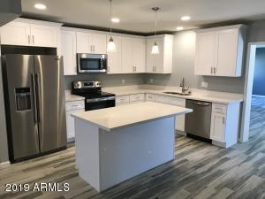 Brand new kitchen with appliances