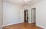 Bedroom 3 has spacious walk-in closet