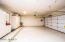 Epoxy Floors, raised storage cabinets