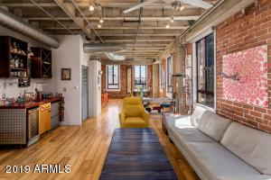 Orpheum Lofts. Combining two units into one: 808.