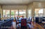 Casual family dining area