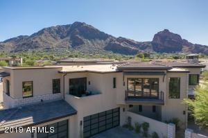 Built to showcase the surrounding mountains. Situated in the guard-gated resort community of Mountain Shadows, the resort amenities are available to enjoy.