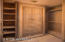Complete custom cabinetry in all closets