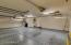 Oversized 3 car garage