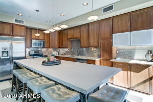 Upgraded Kitchen with Stainless Steel and tons of Cabinet Storage