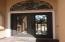Insulated wrought iron doors
