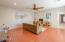 Upstairs large bonus/play room