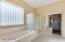 Master bath with expansive custom closet