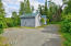 Borough roads maintained by Kenai Peninsula Borough to the driveway. Private entrance to Cabin A and B on Lot 6.