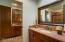 Second Powder Room/Vanity PLus Additional Vanity w/tub shower.