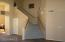 Photo from the Formal Living Room Area. Note Large Storage Closet under the stairs. Next the Family Room.....