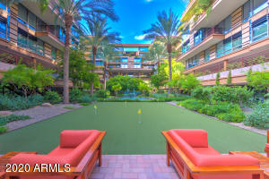 Meet down at the courtyard for a glass of wine or game of putt-putt.