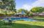 Gazebo by pool
