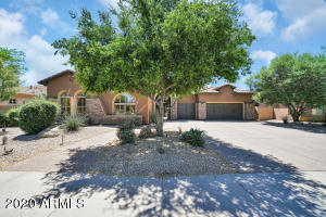 Beautiful North/South home with ample privacy.