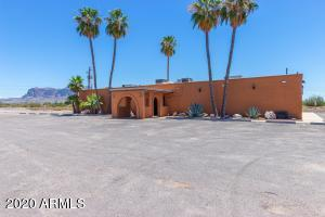 """Great opportunity to own a """"turn key"""" bar and restaurant in Apache Junction , Arizona with views of the famed Superstition Mountains!"""