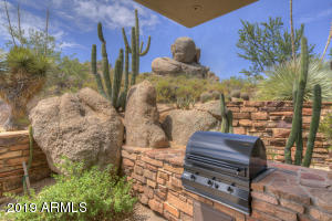 What chef wouldn't be inspired by the outdoor kitchen with a view!! Living with the natural environment is what this stunning property is all about!